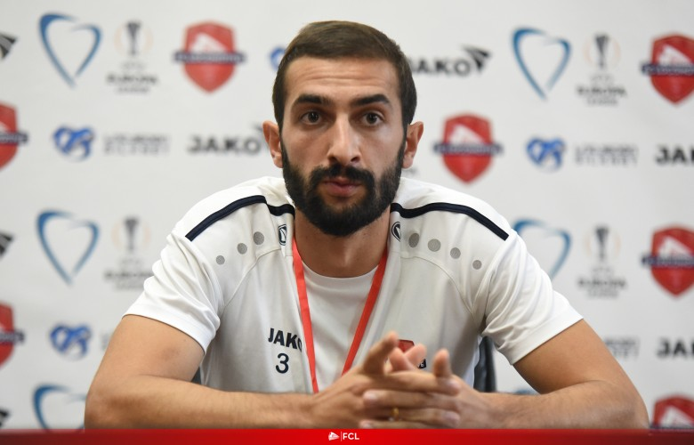 Sandro Gureshidze: Before a match of this level, we did not really complain about motivation