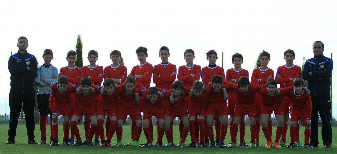 13 წლამდე გუნდი კოსტა ბრავას საერთაშორისო ტურნირზე მიემგზავრება