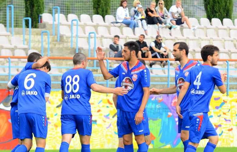 Locomotive beats FC Gagra in a friendly match
