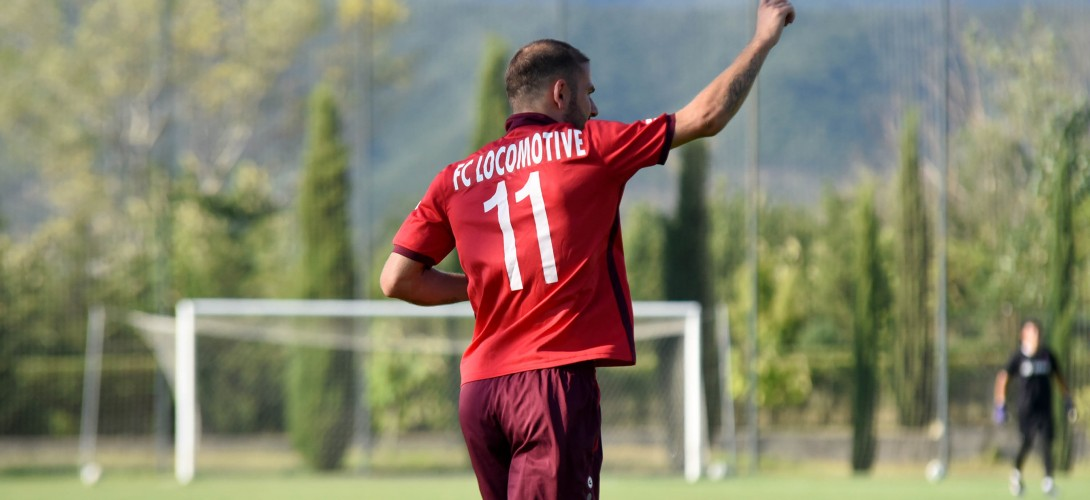 VICTORY GAINED IN A FRIENDLY MATCH: LOCOMOTIVE 3-1 SHEVARDENI 1906