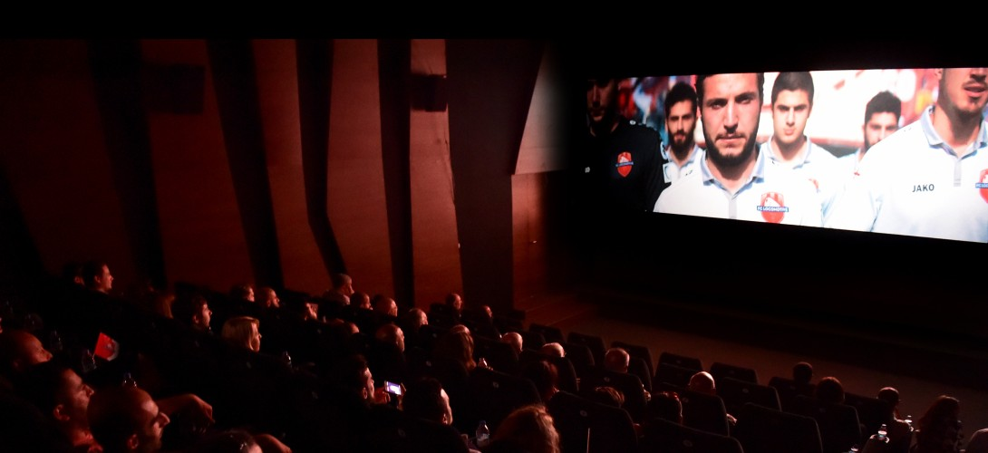 Presentation of Locomotive's Video Clip in Amirani Cinema